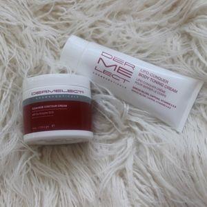 Dermelect bundle of contour toning creams